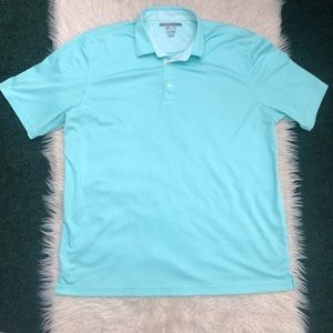Greg Norman ML75 Play Try Polo Blue Men's XXL